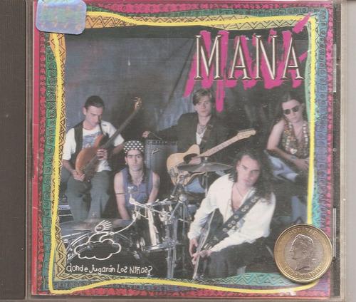 mana -  cd original  - un tesoro musical