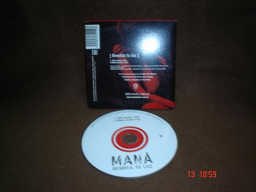 mana - cd single - bendita tu luz