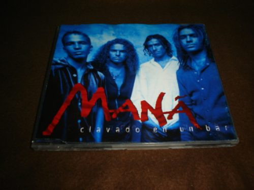 mana - cd single - clavado en un bar