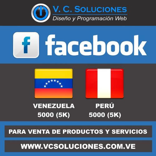 manager cuentas instagram twitter facebook venezuela chile