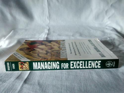 managing for excellence david l bradford allan cohen- inglés