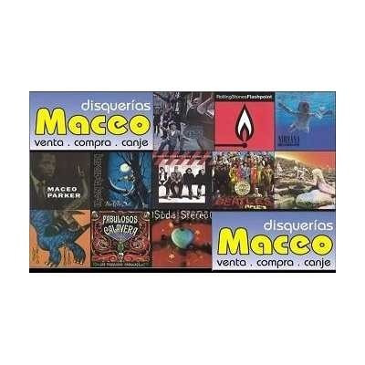 manal - en vivo vol 2  -cassette- maceo-disqueria