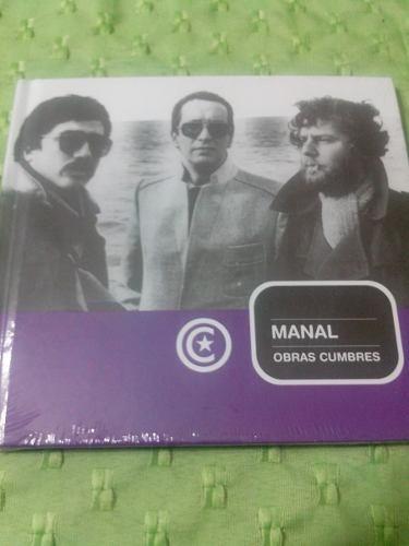 manal -  obras cumbres - cd + libro - la nacion