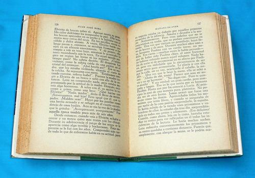 mañana es ayer juan josé mira novela cumbre 1955 antigua