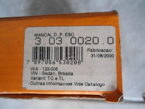 mancal porta escova zen fusca brasilia variant