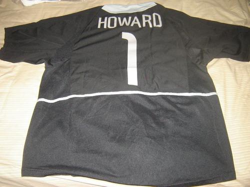 manchester united # 1 tim howard  nike  l