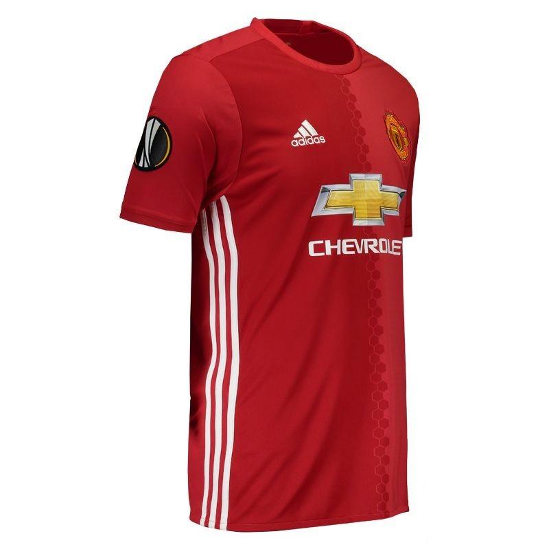 b49f839e42 Carregando zoom... camisa adidas manchester united home 2017 9 ibrahimovic  uel