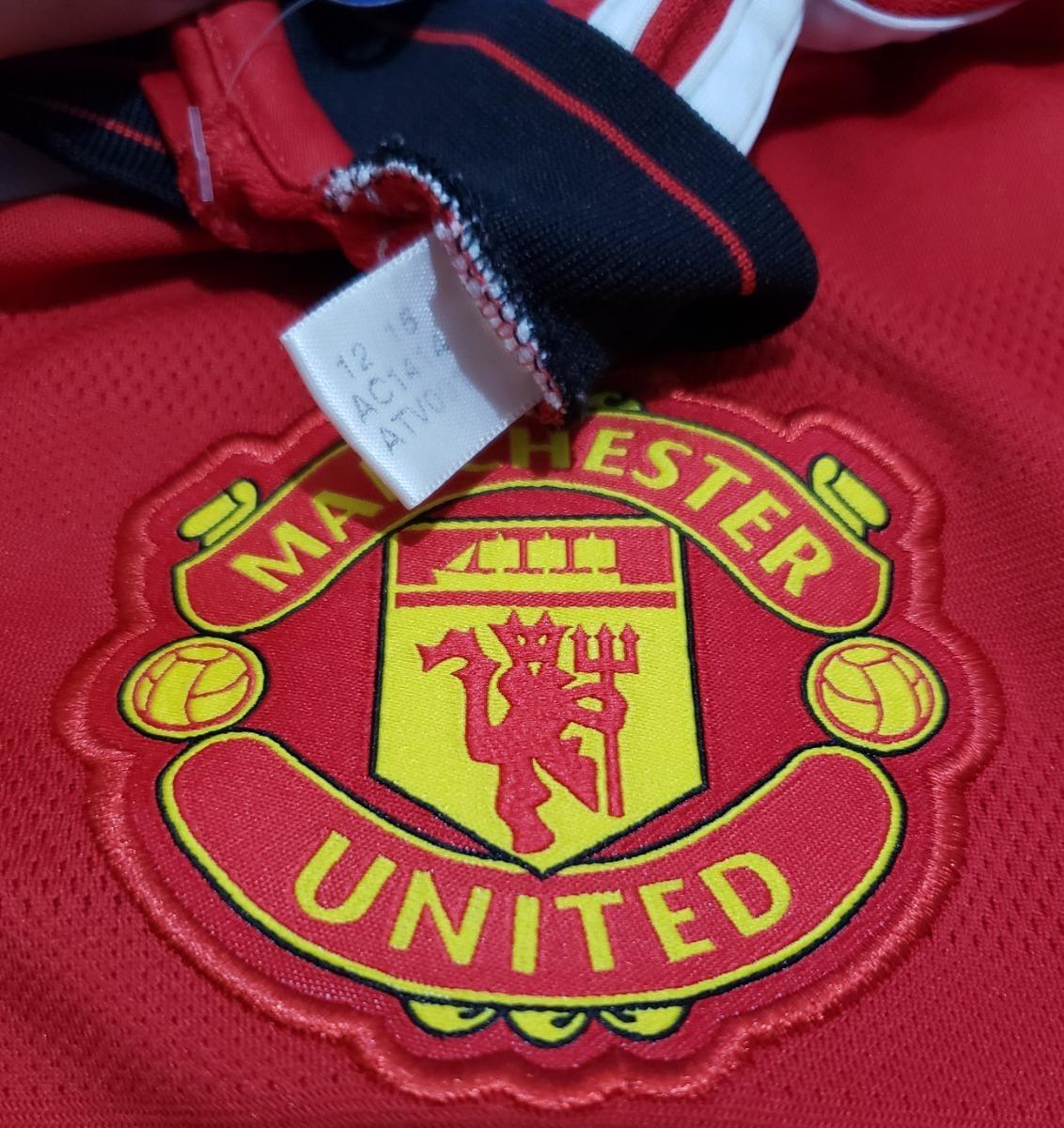 66d4632a75b8f Carregando zoom... camisa oficial manchester united inglaterra 2015 home  adidas