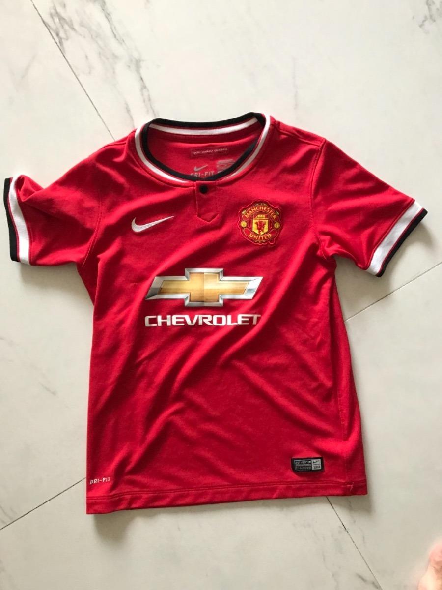 manchester united remera futbol niño talle m importada. Cargando zoom. b928b29209ef8