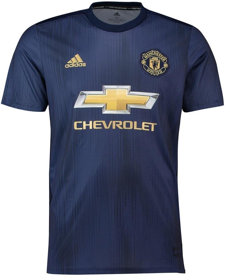 a35015a50 manchester united - uniforme 3 - 2018   2019 - frete grátis. Carregando zoom .