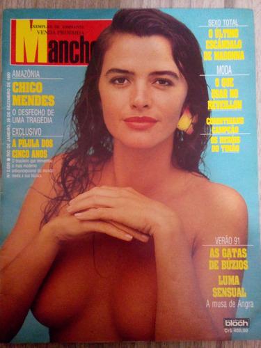 manchete 2020 dez/90 luma de oliveira - madonna