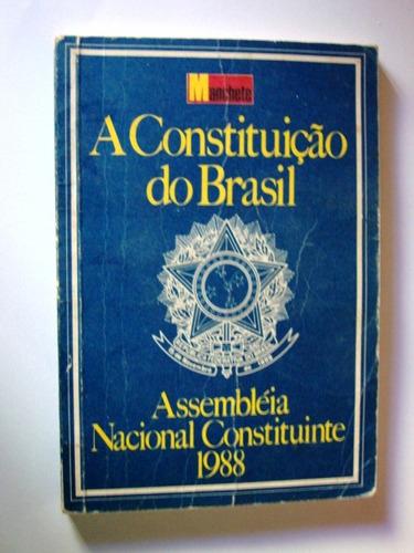 manchete a constituição do brasil 1988