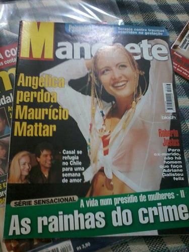manchete angelica mauricio mattar cameron dias sean connery