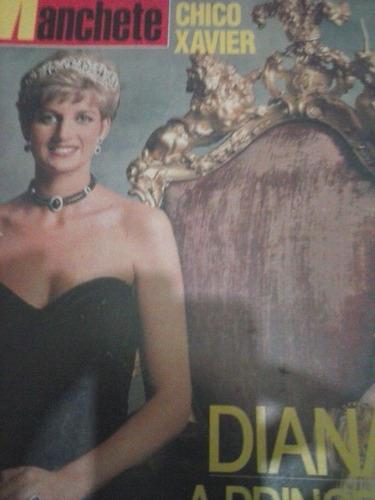 manchete - diana - chico xavier - dezembro 1992