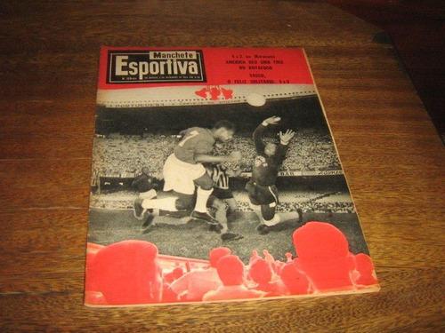 manchete esportiva nº 159 dezembr/1958 c/64 páginas original