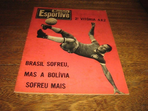 manchete esportiva nº 175 março/1959 c/64 páginas original