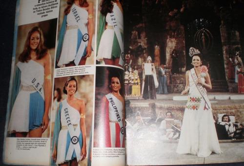 manchete nº  1111 - 1973 a miss universo é das filipinas