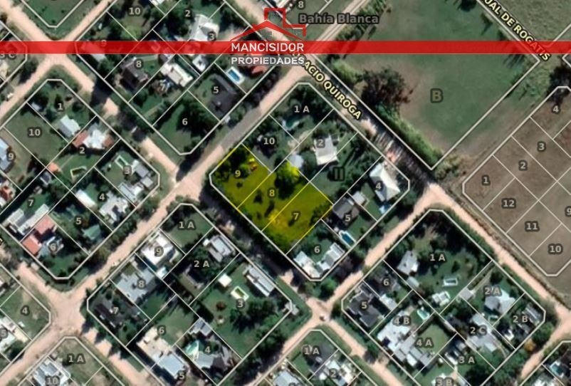mancisidor propiedades vende: lotes en barrio molina campos - calle rehue -