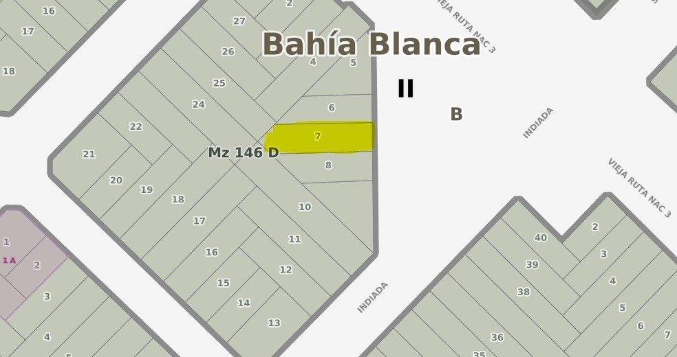 mancisidor propiedades vende: terreno en acceso a la ciudad - newbery e indiada a metros de la rotonda al aeropuerto. ideal emprendimiento - zona residencial