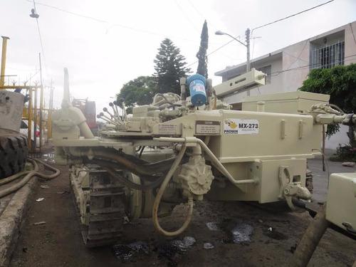 mancuerna, track drill mod. ecm350 y compresor xp750wcu