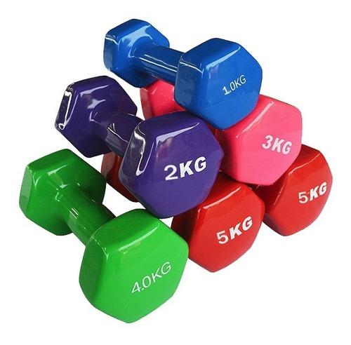 mancuerna vinilo para entrenamientos y pesas - precio/kilo