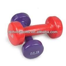 mancuernas de neoprene de 1/2 a 5 kg. para fitness