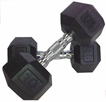mancuernas hexagonales 2.5 kg hasta 50  kg  - discos
