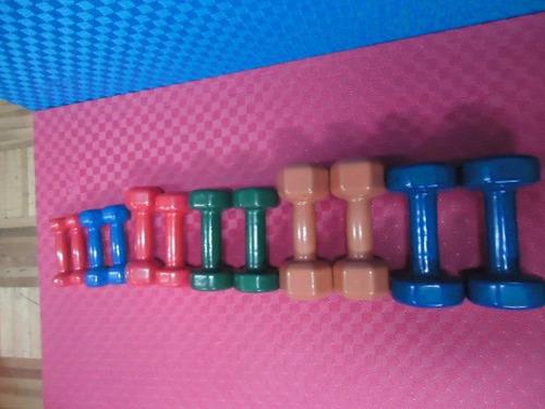 mancuernas para gimnasia y rehabilitación