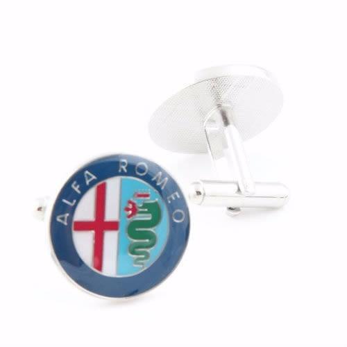 mancuernillas alfa romeo coches italianos emblemas e-185