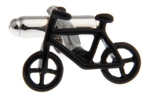 mancuernillas bicicleta negra ciclista acero camisa 005
