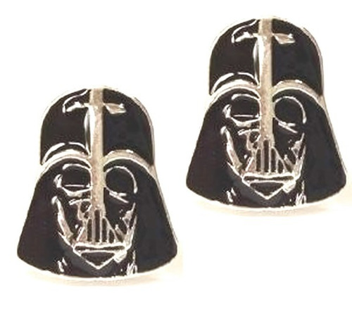 mancuernillas darth vader star wars gemelos camisa e-253