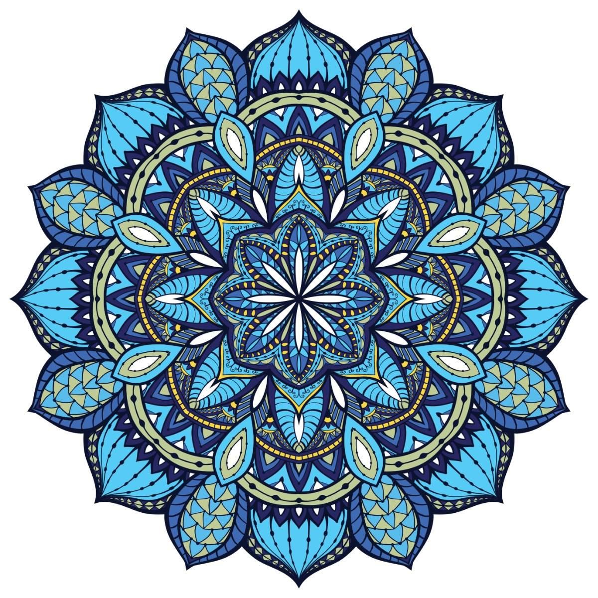 MANDALAS PINTADOS 1 Mandala-azul-y-verde-cuadro-decorativo-en-canvas-D_NQ_NP_702201-MLM28387479348_102018-F