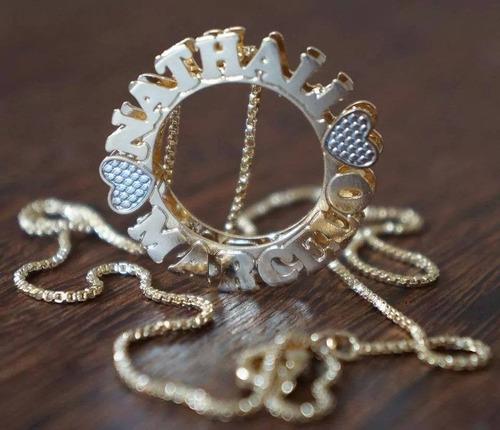 mandala - folheada a ouro