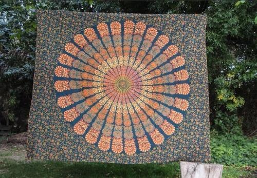 mandala multiuso de la india 100% algodón