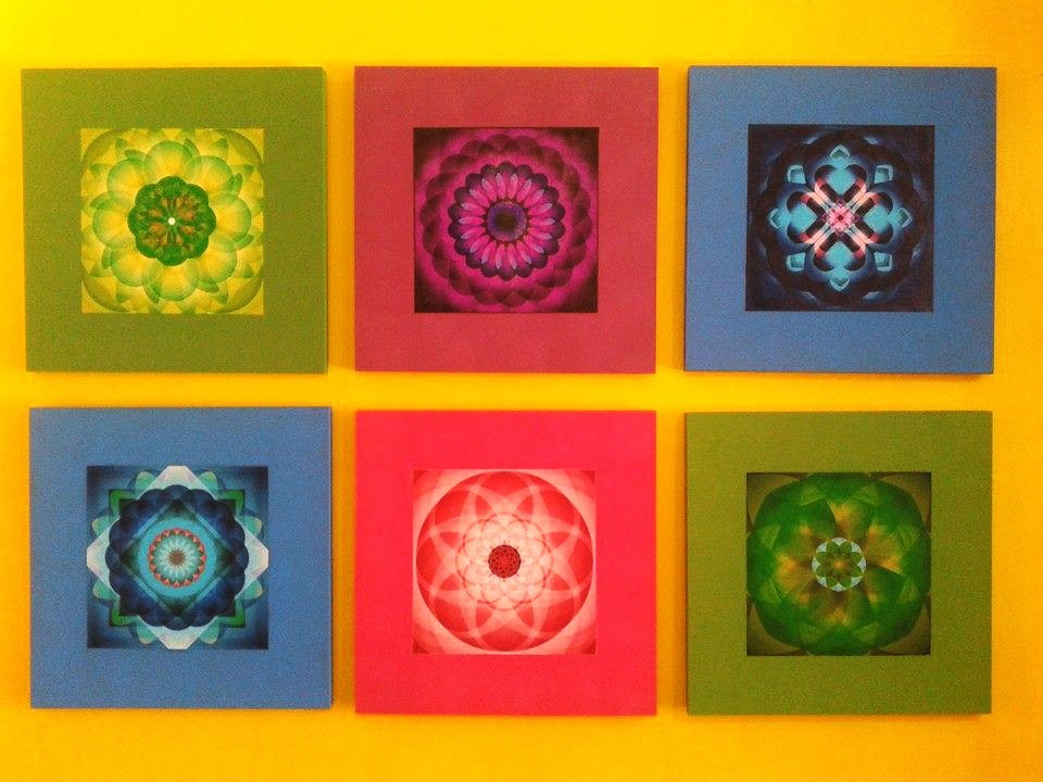 Mandala portavasos imanes cuadros decorativos mandalas - Cuadros mandalas ...