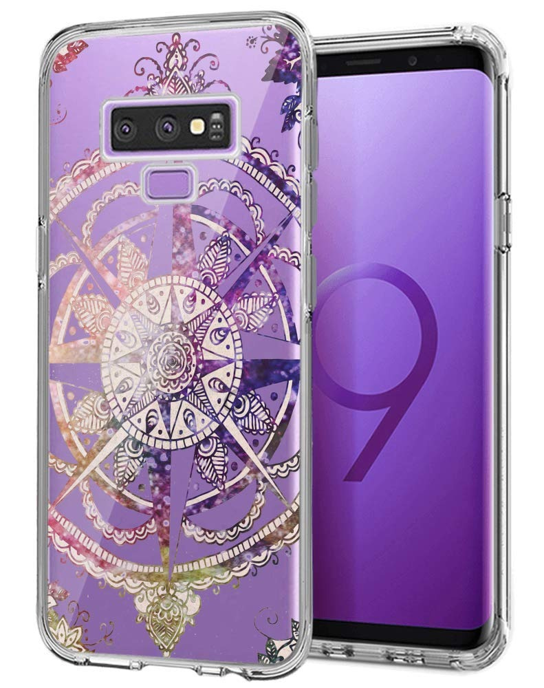 Mandala Travel Compass Tattoo Samsung Galaxy Note 9 Funda Cl