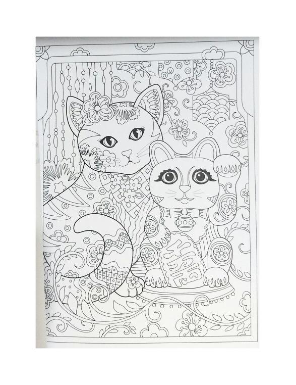 Mandalas 2 Libros Para Colorear Gatitos Y Fantasía - $ 249.00 en ...