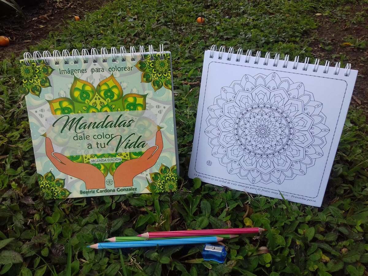 Mandalas Dale Color A Tu Vida Libro Colorear Pasta Dura - $ 20.000 ...