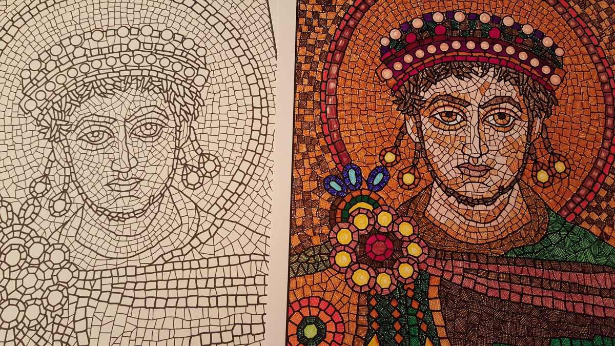 Mandalas dibujos mosaico y psico para colorear 3 for Disenos para mosaicos