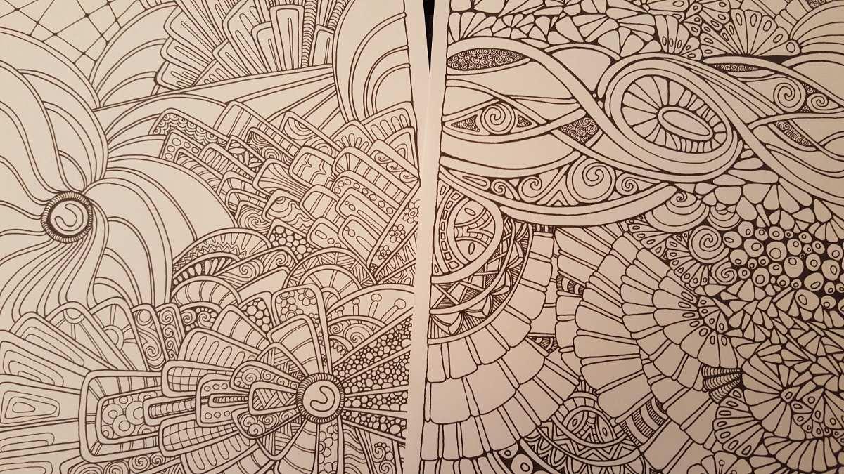 Mandalas !! Dibujos Mosaico Y Psico Para Colorear - $ 3.000 en ...