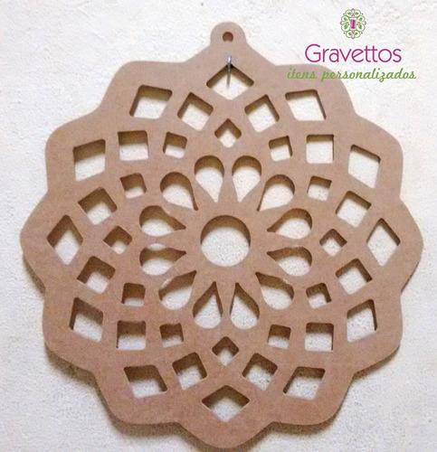 mandalas em mdf decoração artesanato design arte
