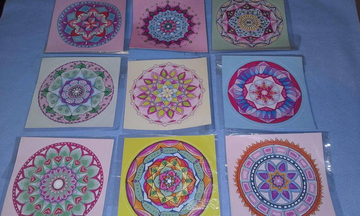 Mandalas En Vinilo Autoadhesivas Hermosas 7000 En Mercado