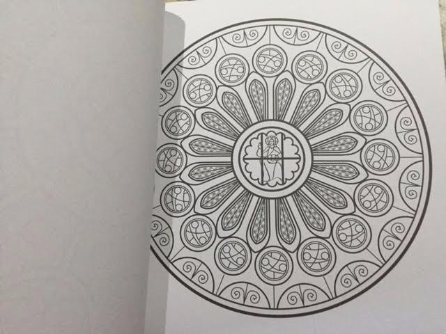Mandalas Gotico Para Colorear Meditación Espiritualidad