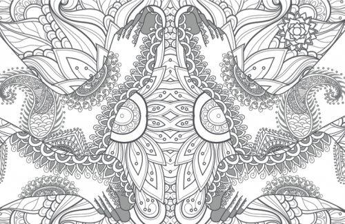 Mandalas Para Colorear, Arte Terapia, Mudras - $ 170.00 en Mercado Libre