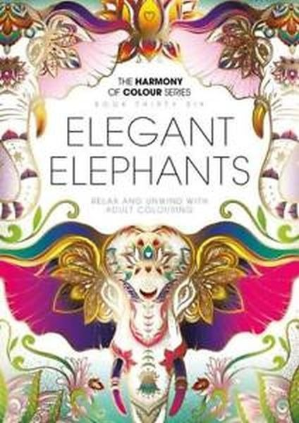 Mandalas Para Colorear - Colour #36 Elefantes Elegantes - $ 19.00 en ...