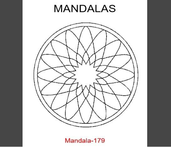 Mandalas Para Colorear. Libro Digital Imprimible, Pdf. - Bs. 0,01 en ...