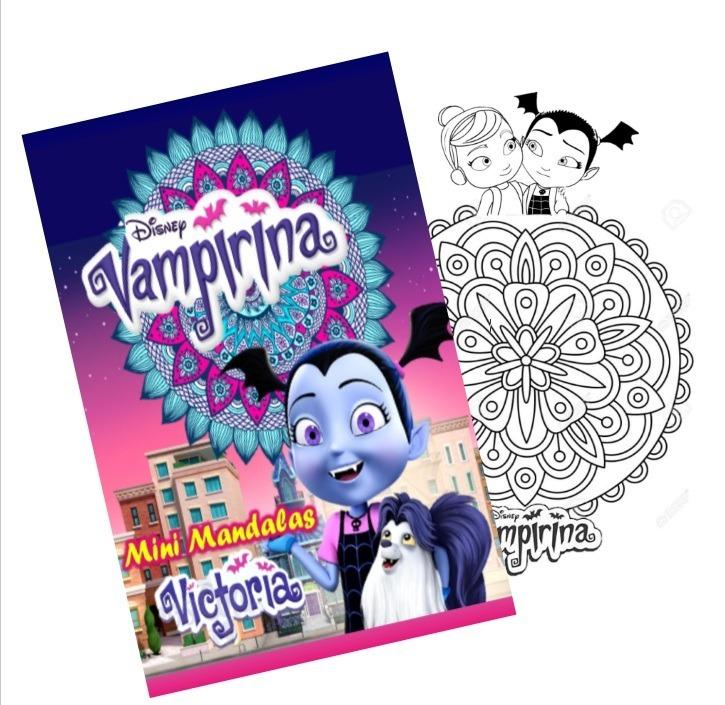 Mandalas Para Colorear Libro Digital Para Imprimir Vampirina