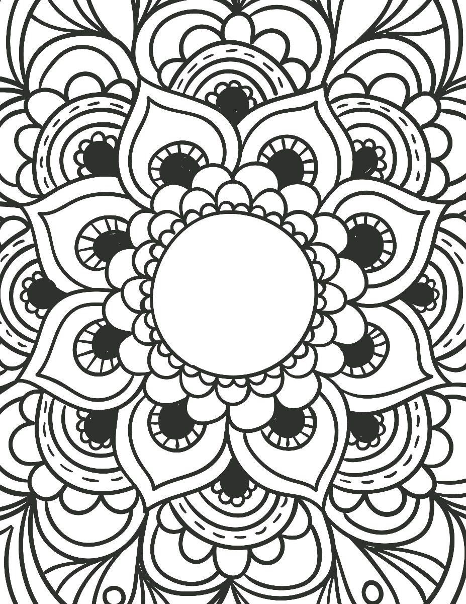 Mandalas Para Colorear Por Adultos Relajarse Dibujando (pdf ...