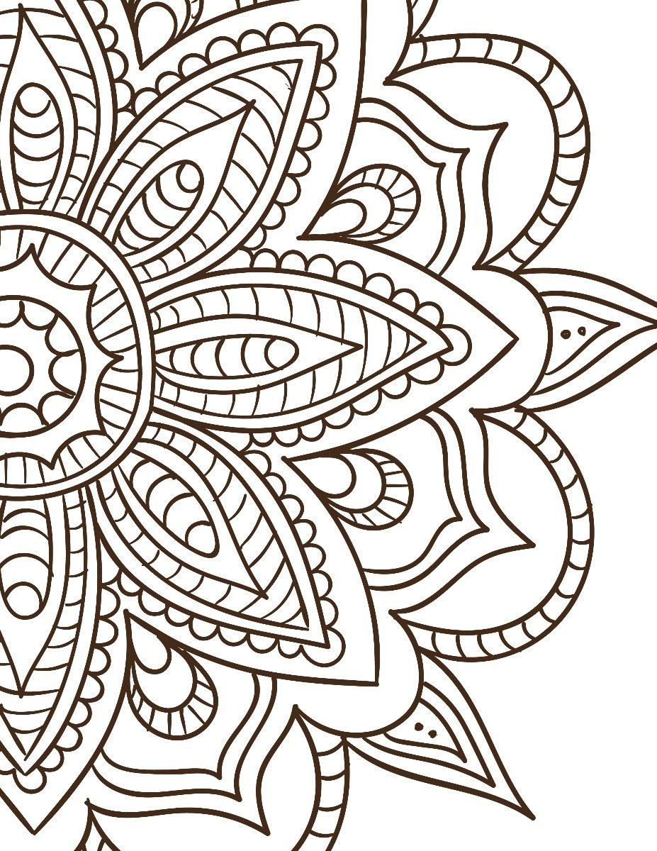 Mandalas Para Imprimir Y Colorear .pdf terapia De Relajación