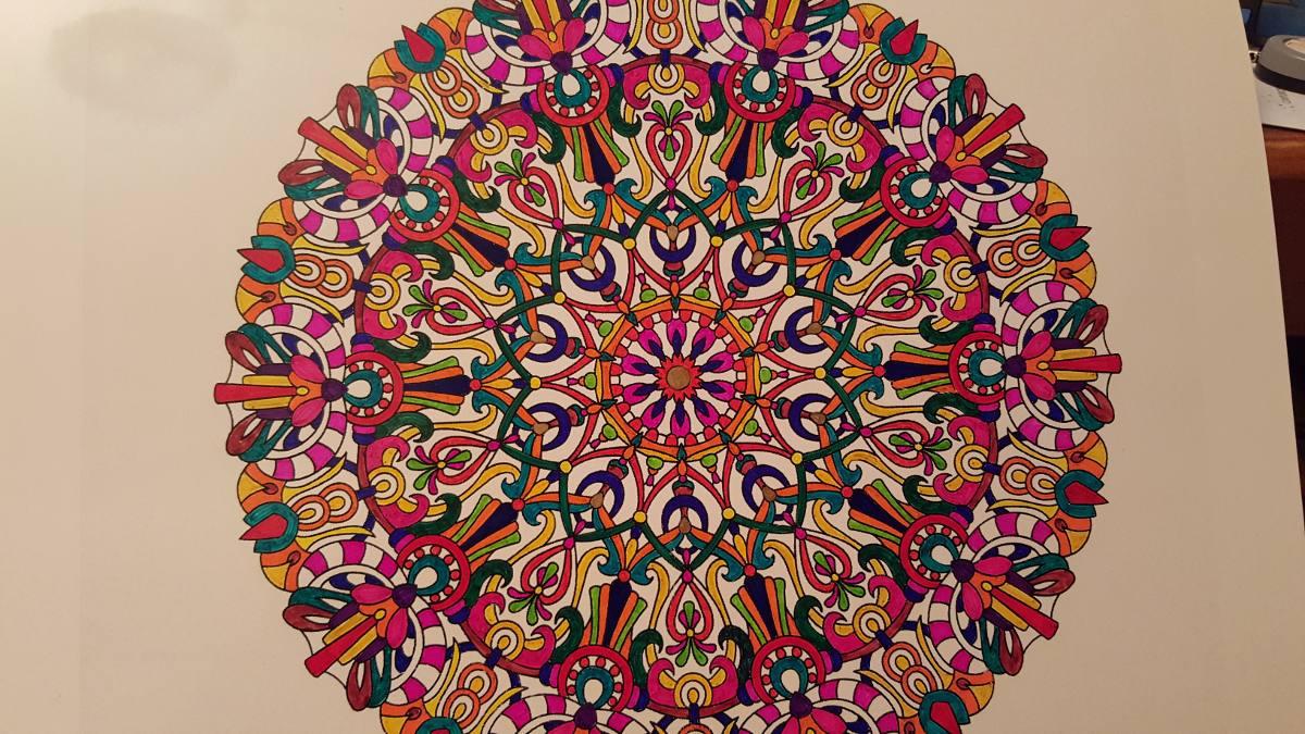 Mandala Para Colorear Mandalas Para Mandalas Para Pintar: $ 3.000 En Mercado Libre